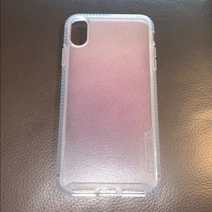Tech21 Pink Pure Shimmer iPhone XS Max Case